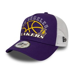 Gorra trucker Los Angeles Lakers Graphic, morado