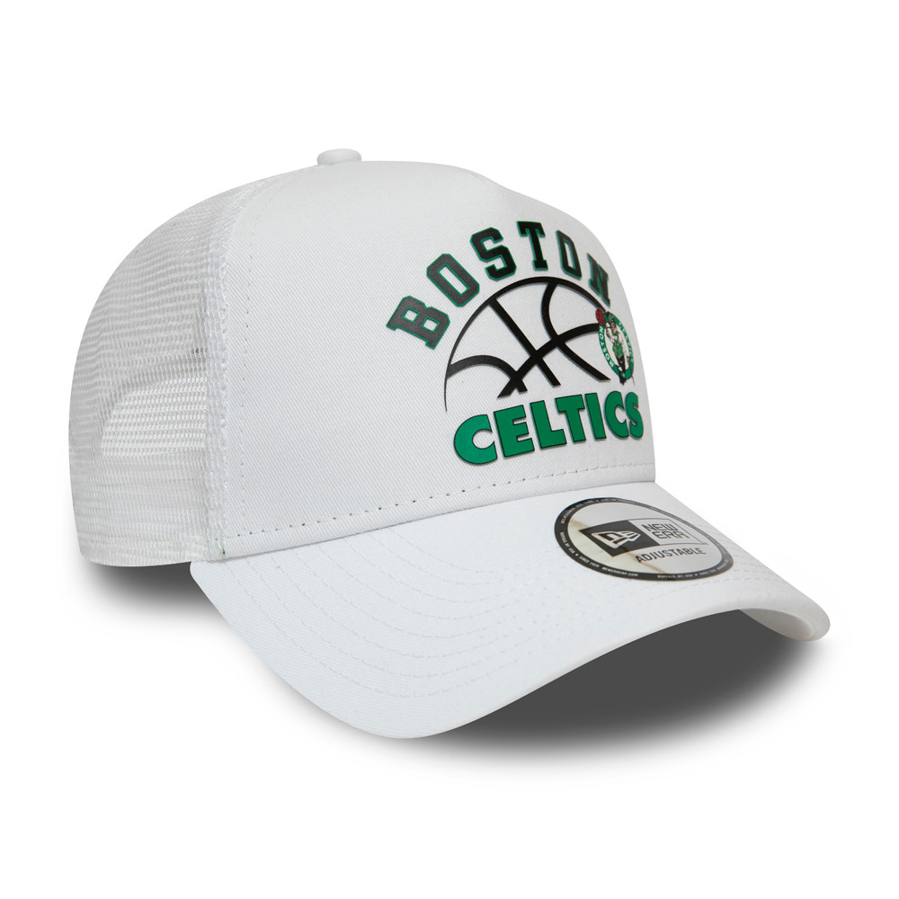 Boston Celtics Graphic Trucker bianco