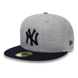 Cappellino New York Yankees Essential 59FIFTY grigio mélange