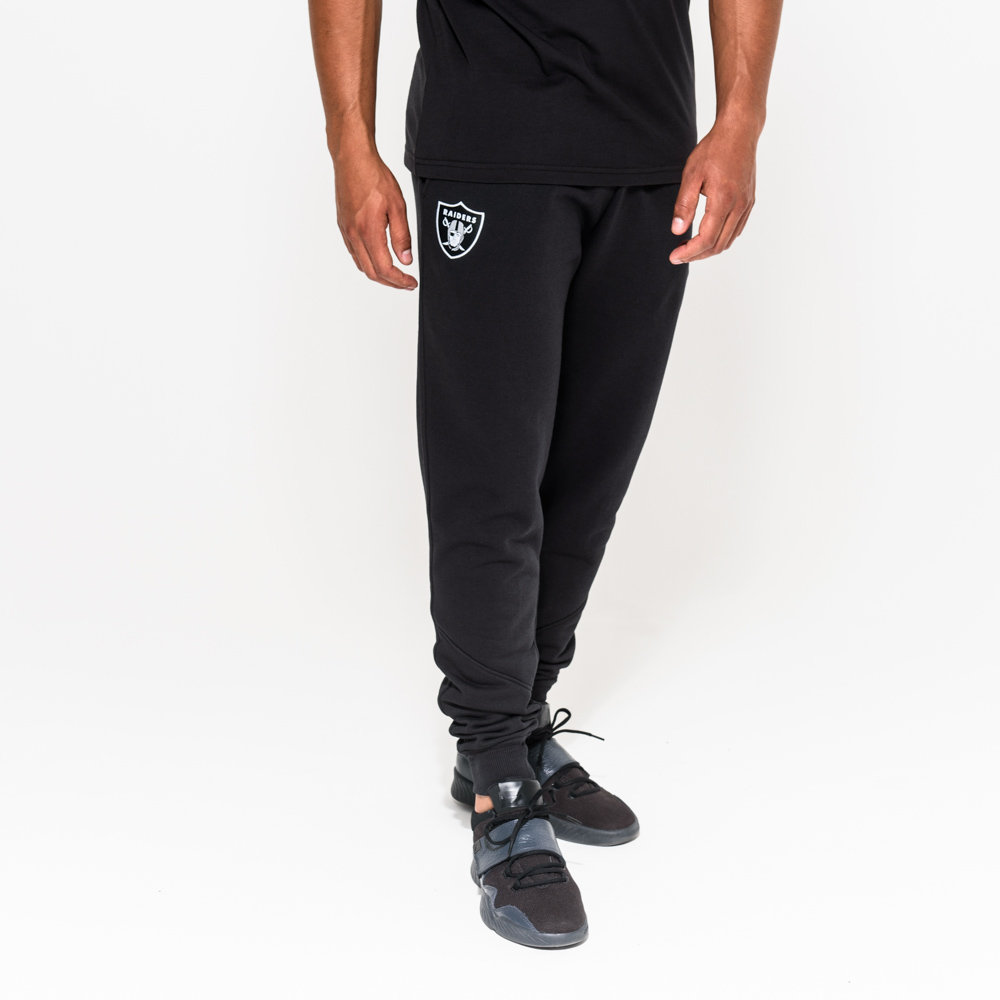 Oakland Raiders Team - Schwarze Jogginghose
