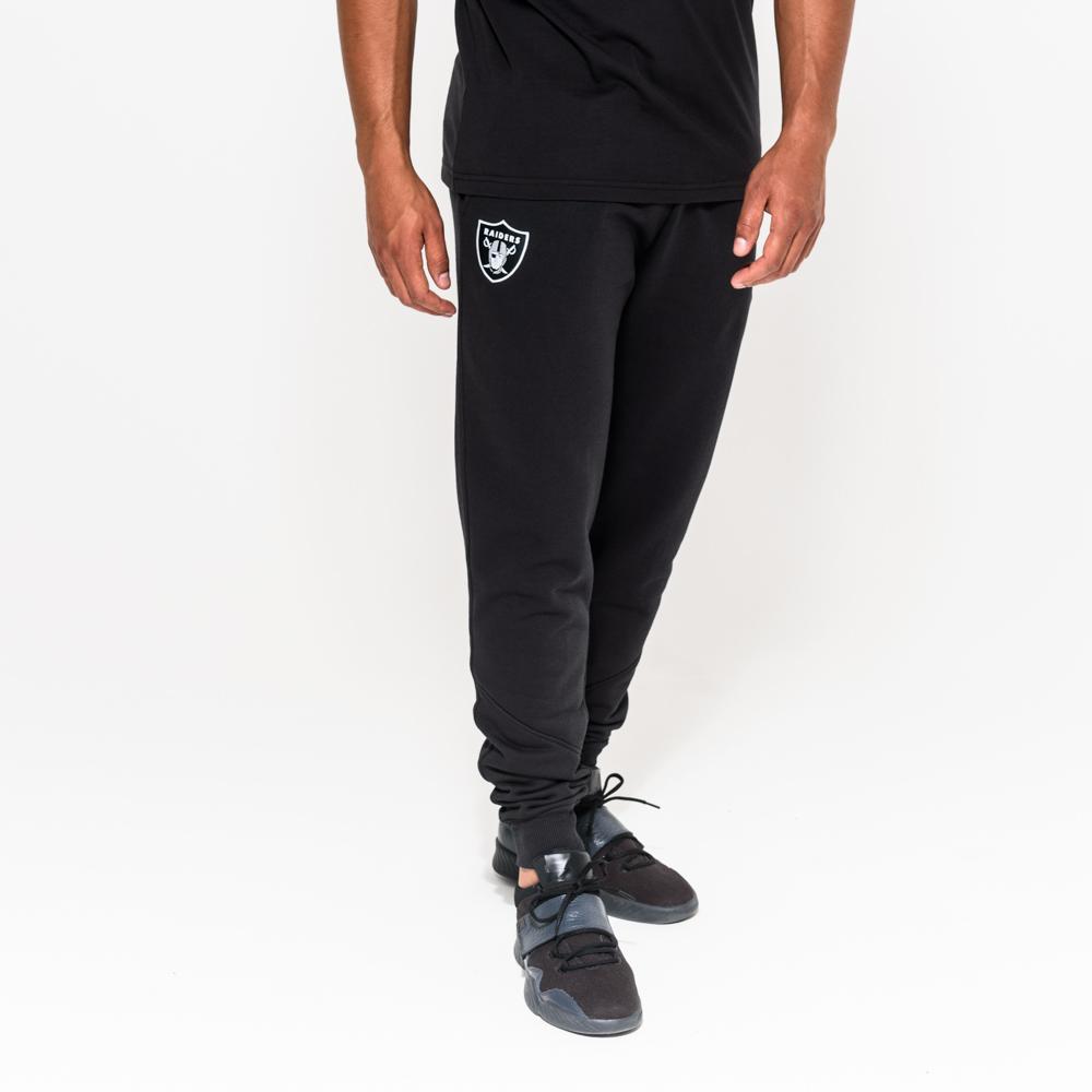 Pantalones de chándal negros Oakland Raiders