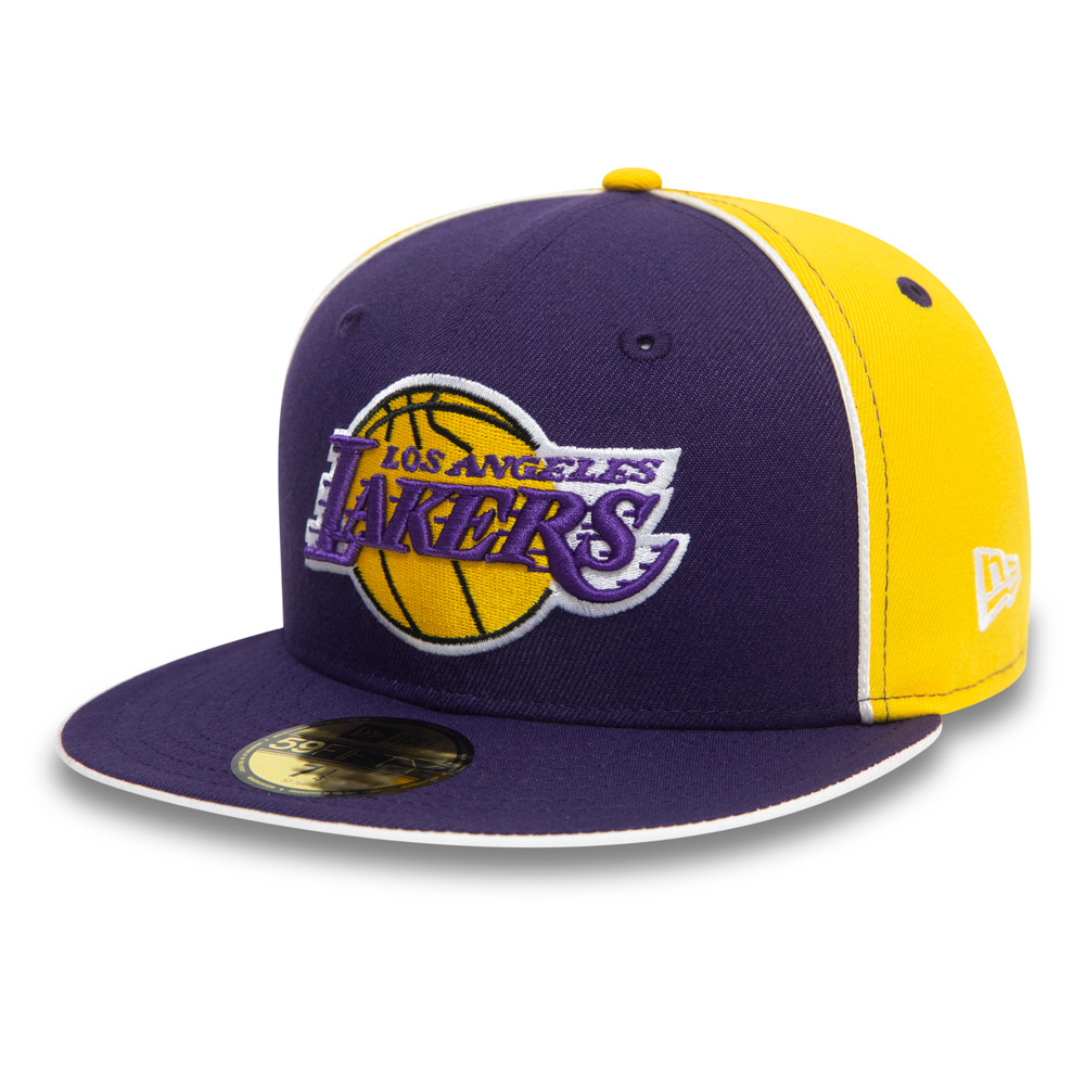 59FIFTY – Los Angeles Lakers – NBA Piping – Kappe