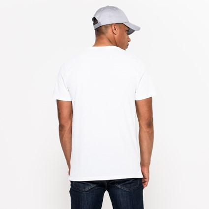Miami Dolphins Team Logo White Tee