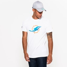 Camiseta Miami Dolphins Team Logo White