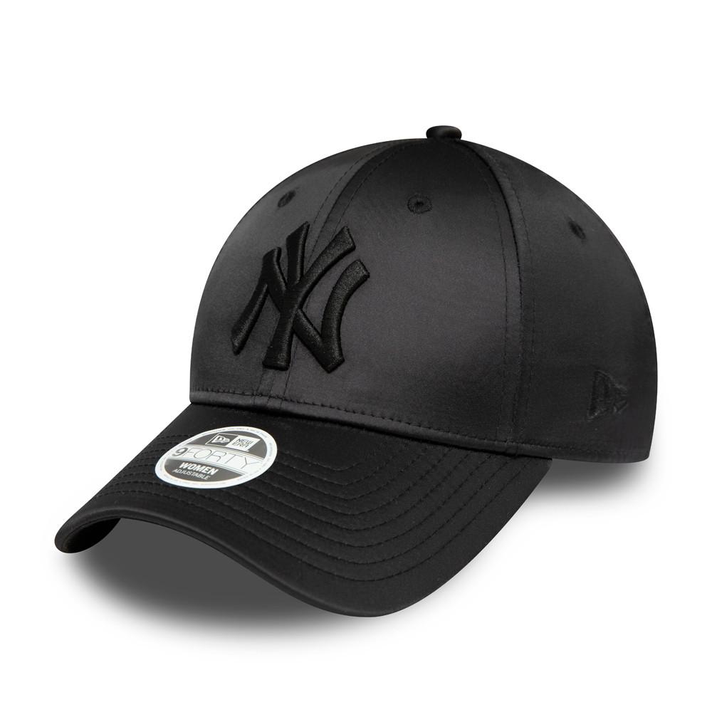 Cappellino New York Yankees Satin 9FORTY nero donna
