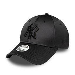 New York Yankees Womens Satin Black 9FORTY Cap