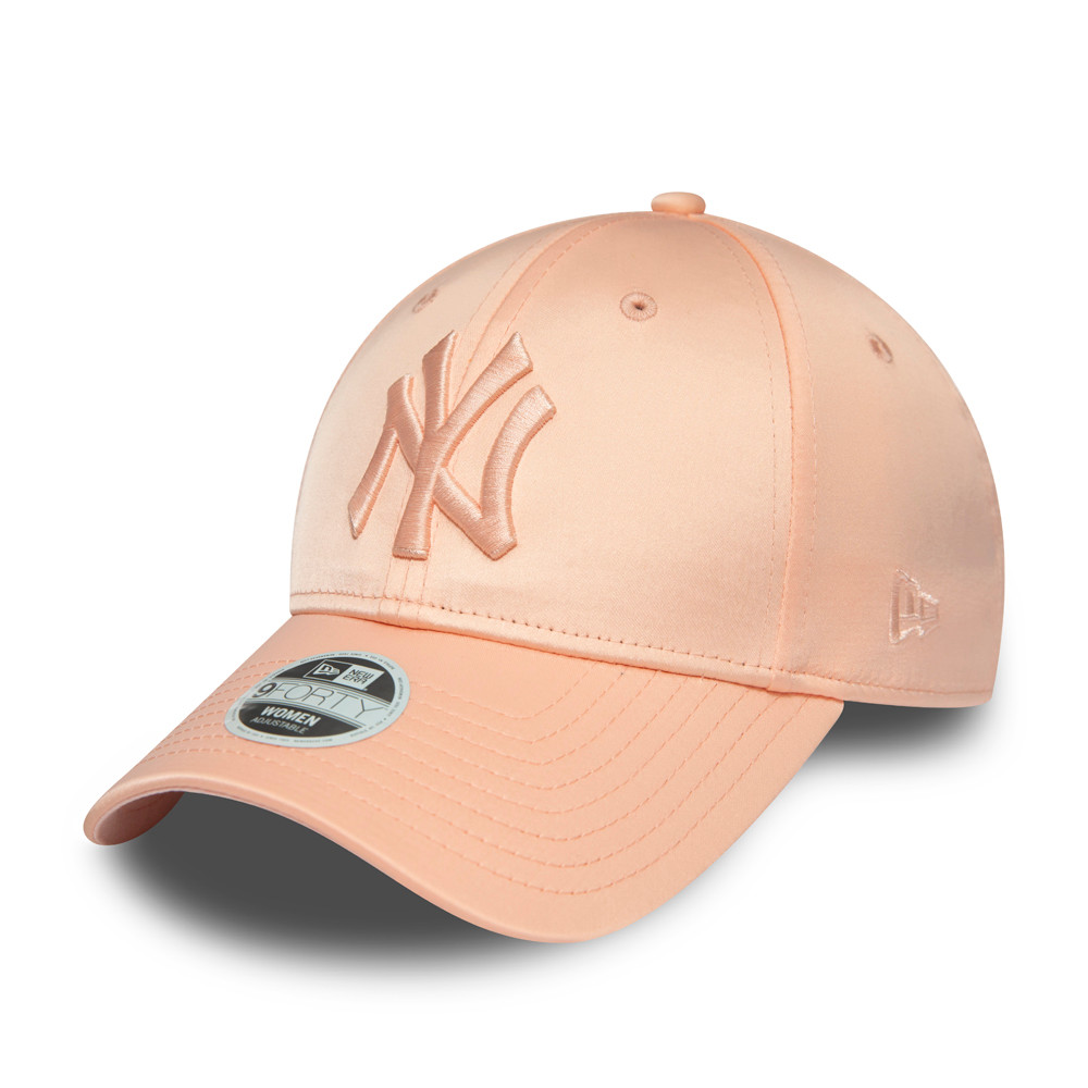 Cappellino New York Yankees Satin 9FORTY rosa donna