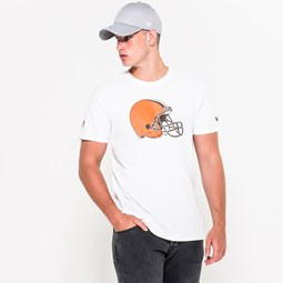 T-shirt Cleveland Browns Team Logo bianca