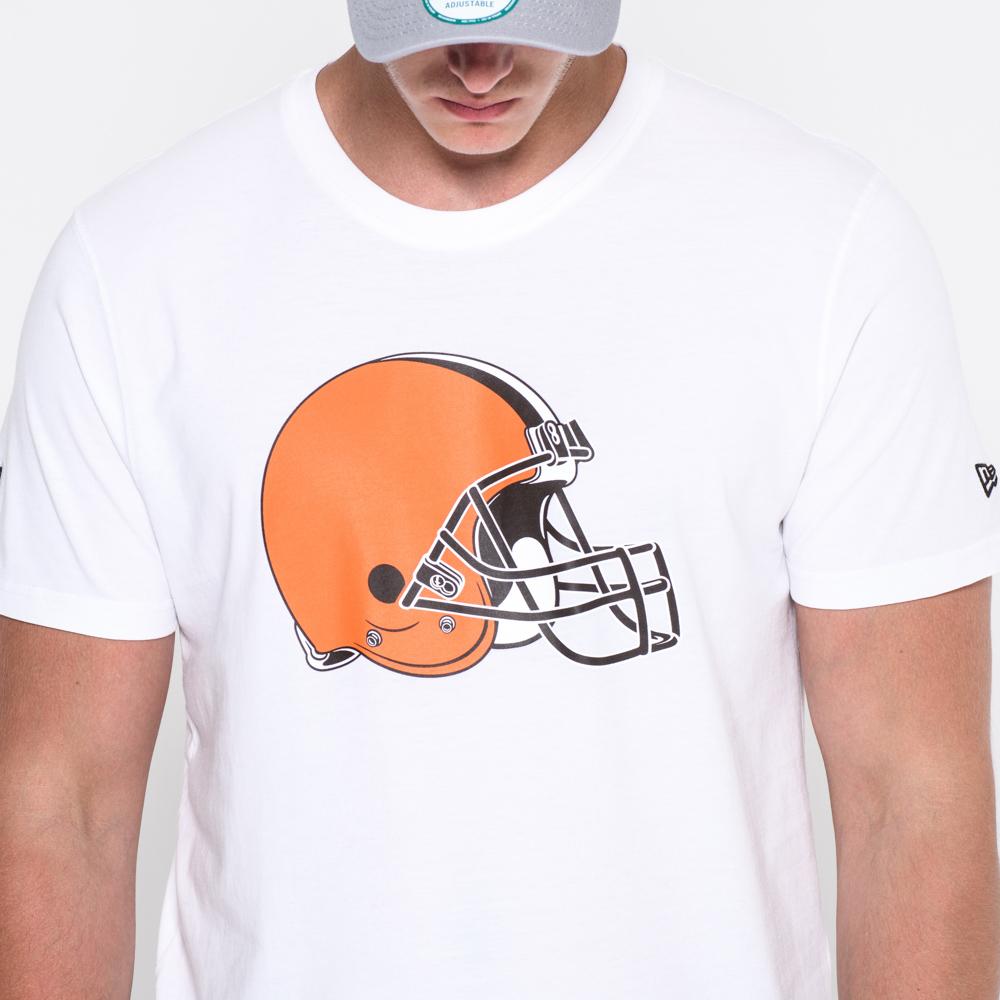 Camiseta Cleveland Browns Team Logo White