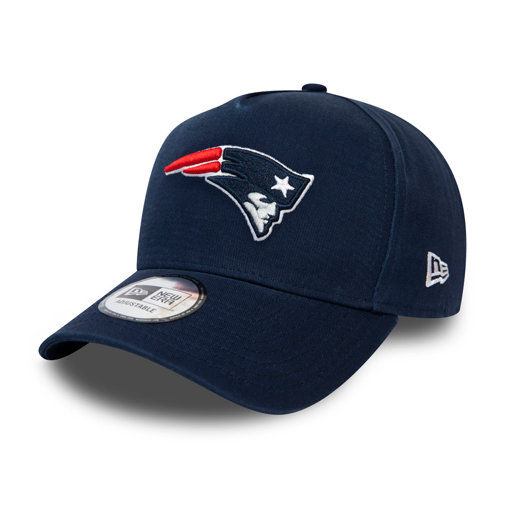 New England Patriots Team Washed A-Frame Trucker blu