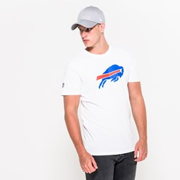 Buffalo Bills Team – T-Shirt mit Logo – Weiß