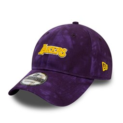 Los Angeles Lakers Team Tie Dye Purple 9TWENTY Cap