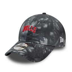 Chicago Bulls Team Tie Dye Grey 9TWENTY Cap