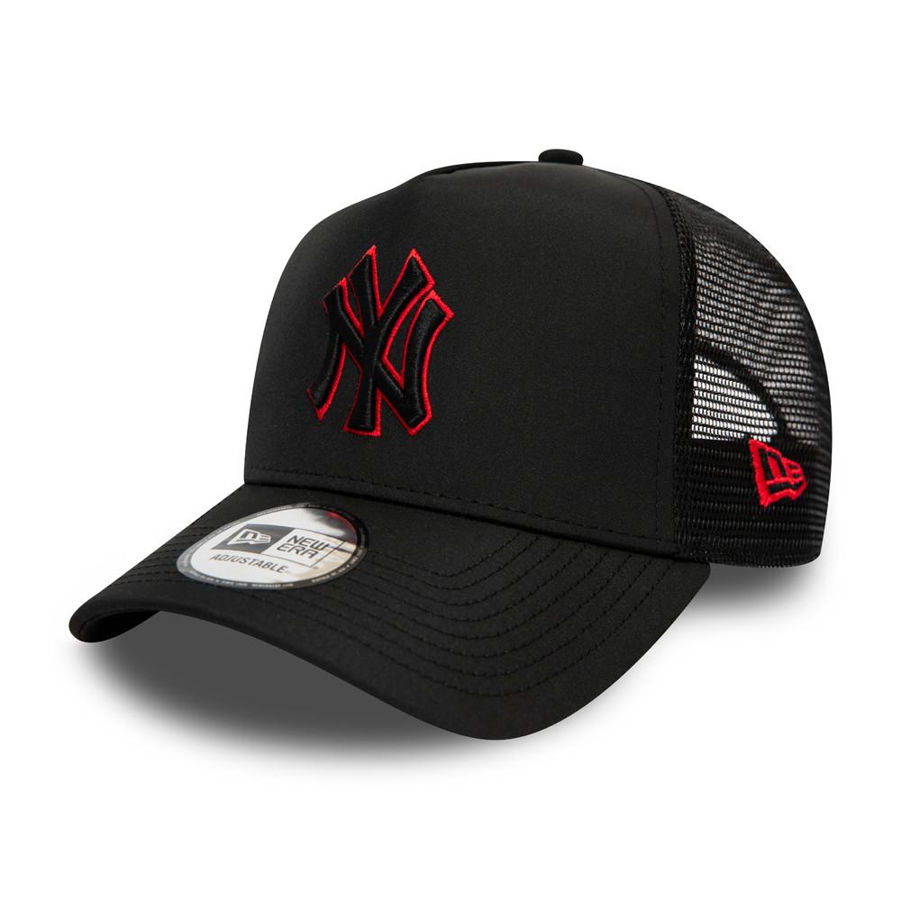 Trucker A-Frame Highlight Logo New York Yankees nero