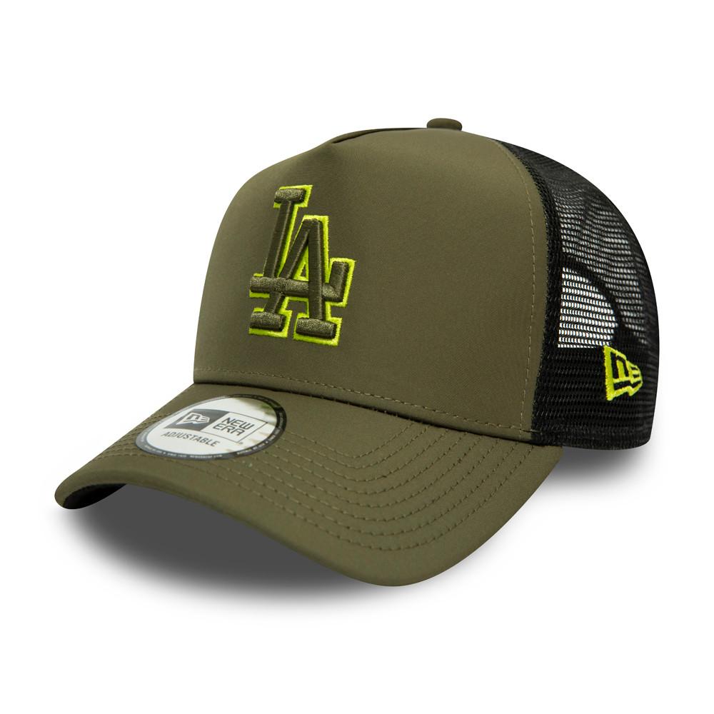 Trucker A-Frame Highlight Logo des Dodgers de Los Angeles, kaki