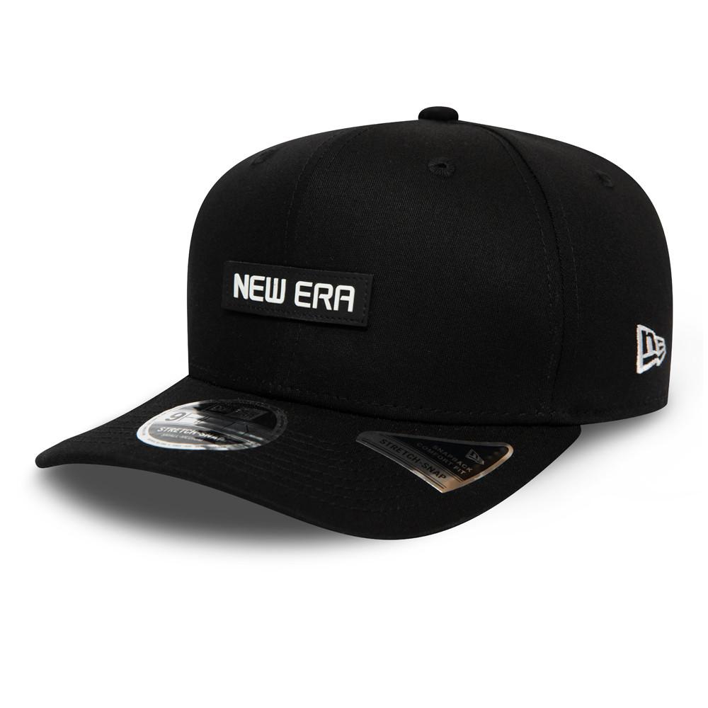 New Era Essential Black Stretch Snap 9FIFTY Cap