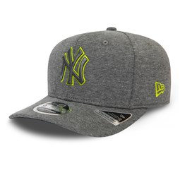Casquette New York Yankees Outline Jersey Stretch Snap 9FIFTY, gris