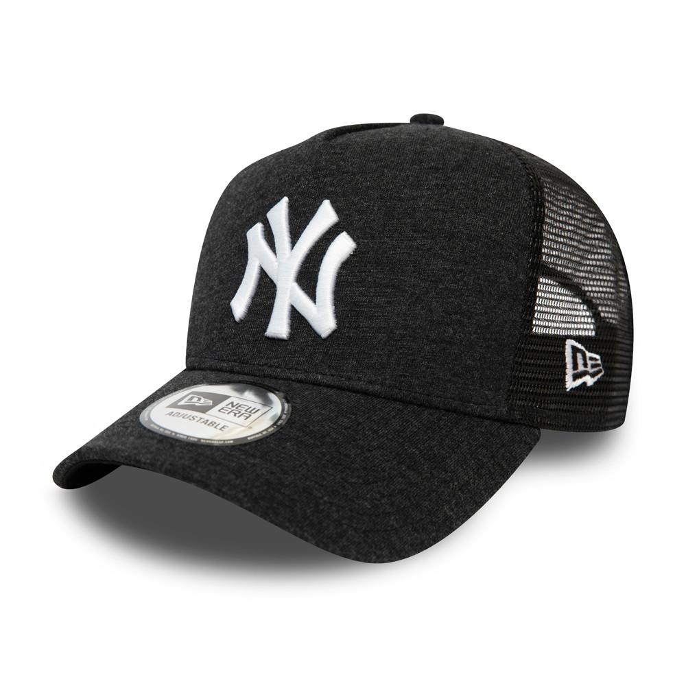New York Yankees Essential Jersey A-Frame Trucker nero