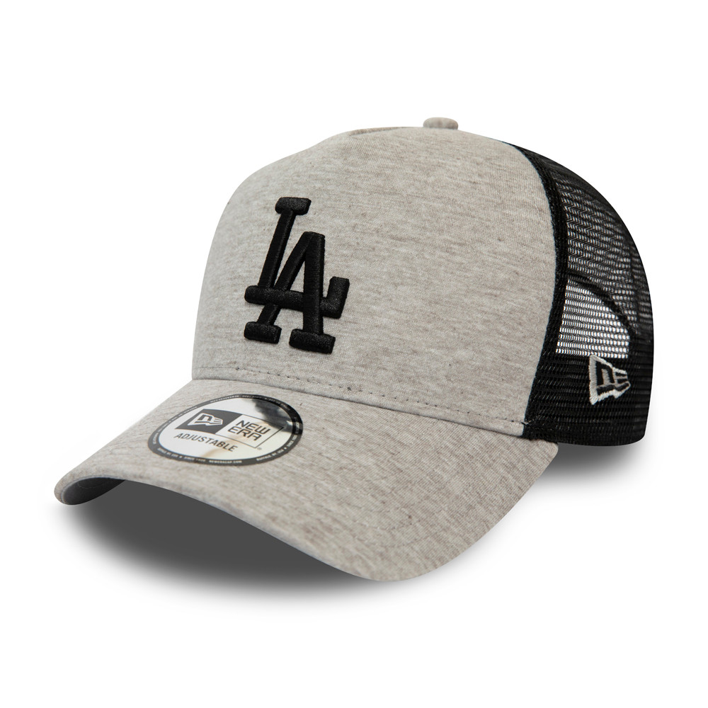 Los Angeles Dodgers Essential Jersey A-Frame Trucker grigio