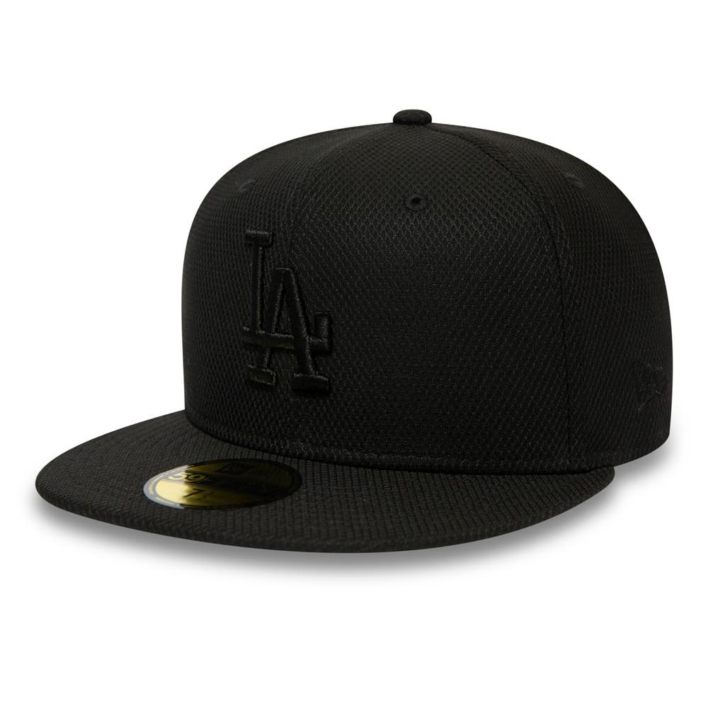 Casquette 59FIFTY Essential Diamond EraLos Angeles Dodgers, noir