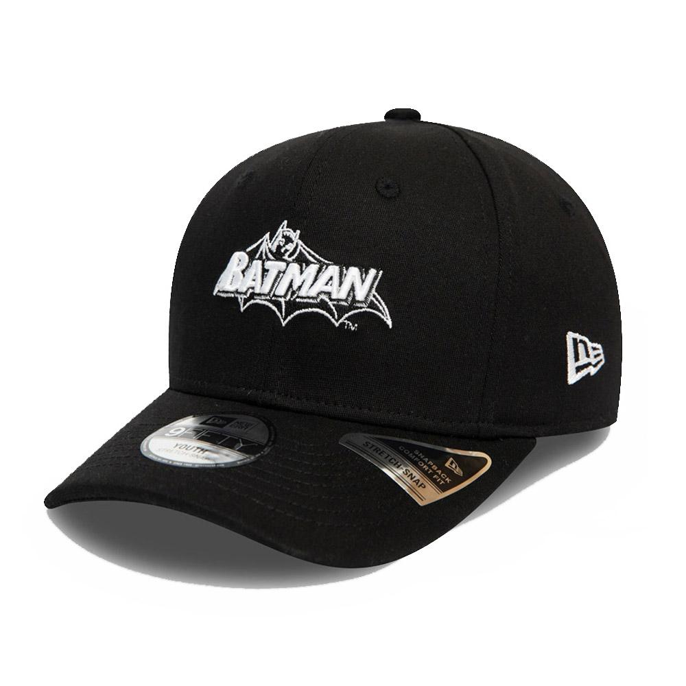 Casquette Batman Wordmark 9FIFTY, enfant, noir