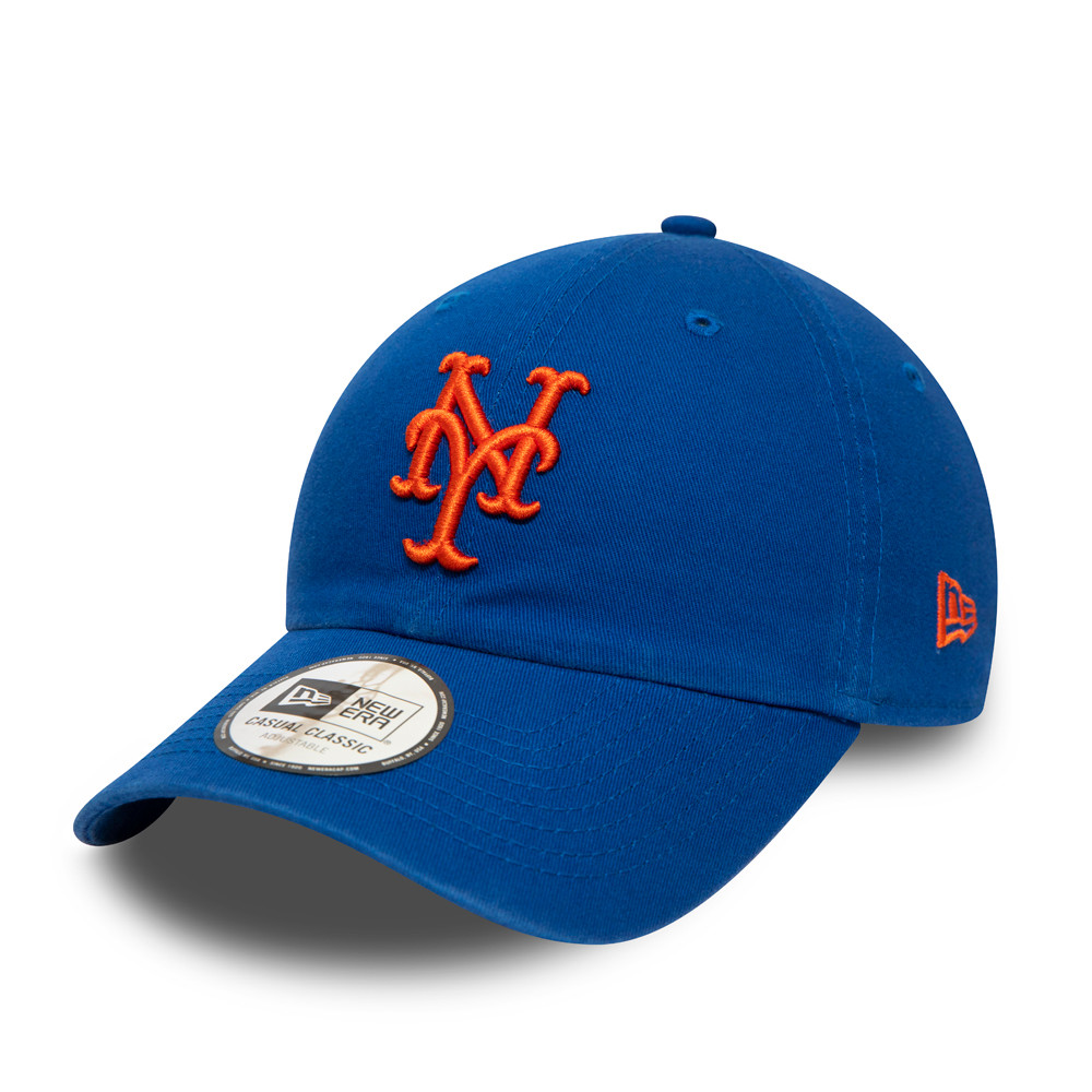 New York Mets Washed Casual Classic blu