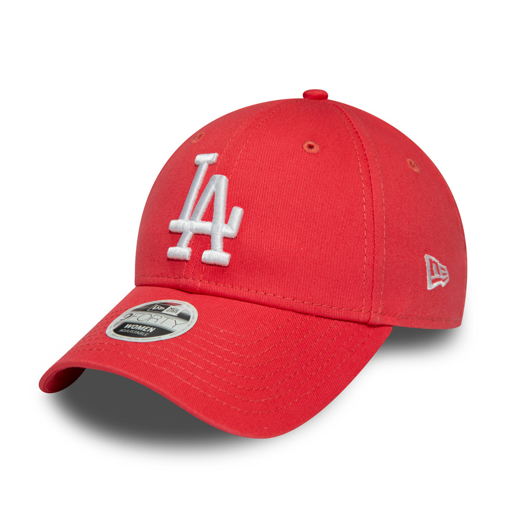 Casquette Los Angeles Dodgers Womens League Essential 9FORTY, rose