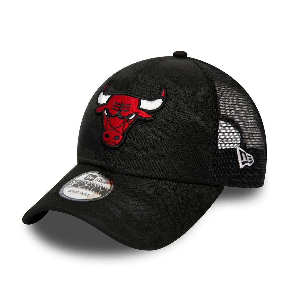 Casquette Chicago Bulls Seasonal The League 9FORTY camouflage, noir