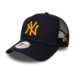 New York Yankees League Essential Trucker blu navy
