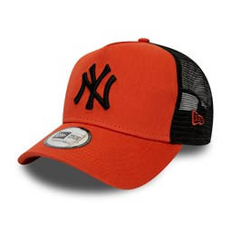 New York Yankees League Essential Trucker arancione