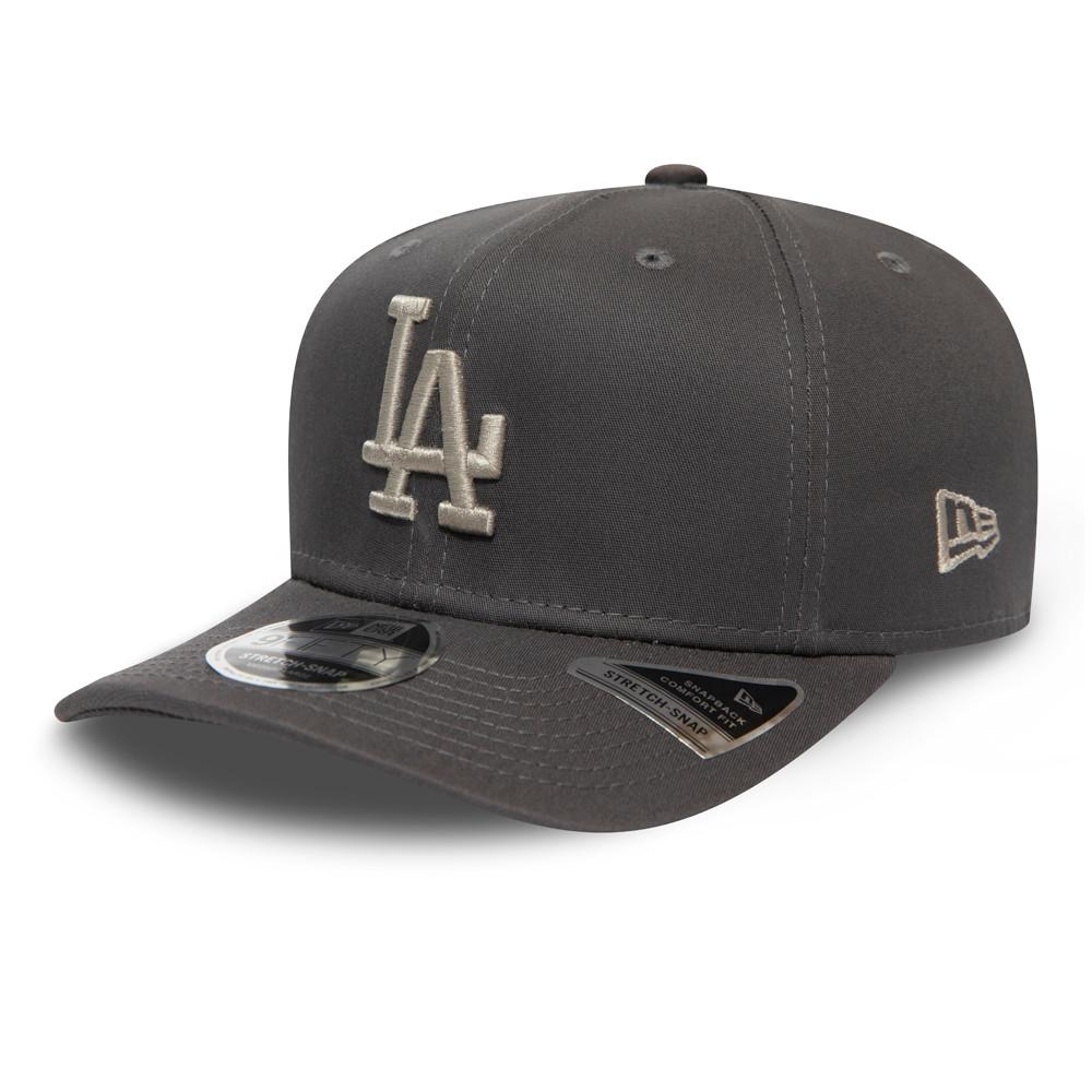 Casquette9FIFTY desLos Angeles Dodgers League Essential grise,stretch avec languette de réglage