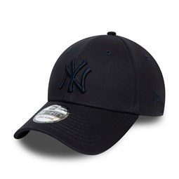 Casquette New York Yankees League Essential 39THIRTY, bleu marine