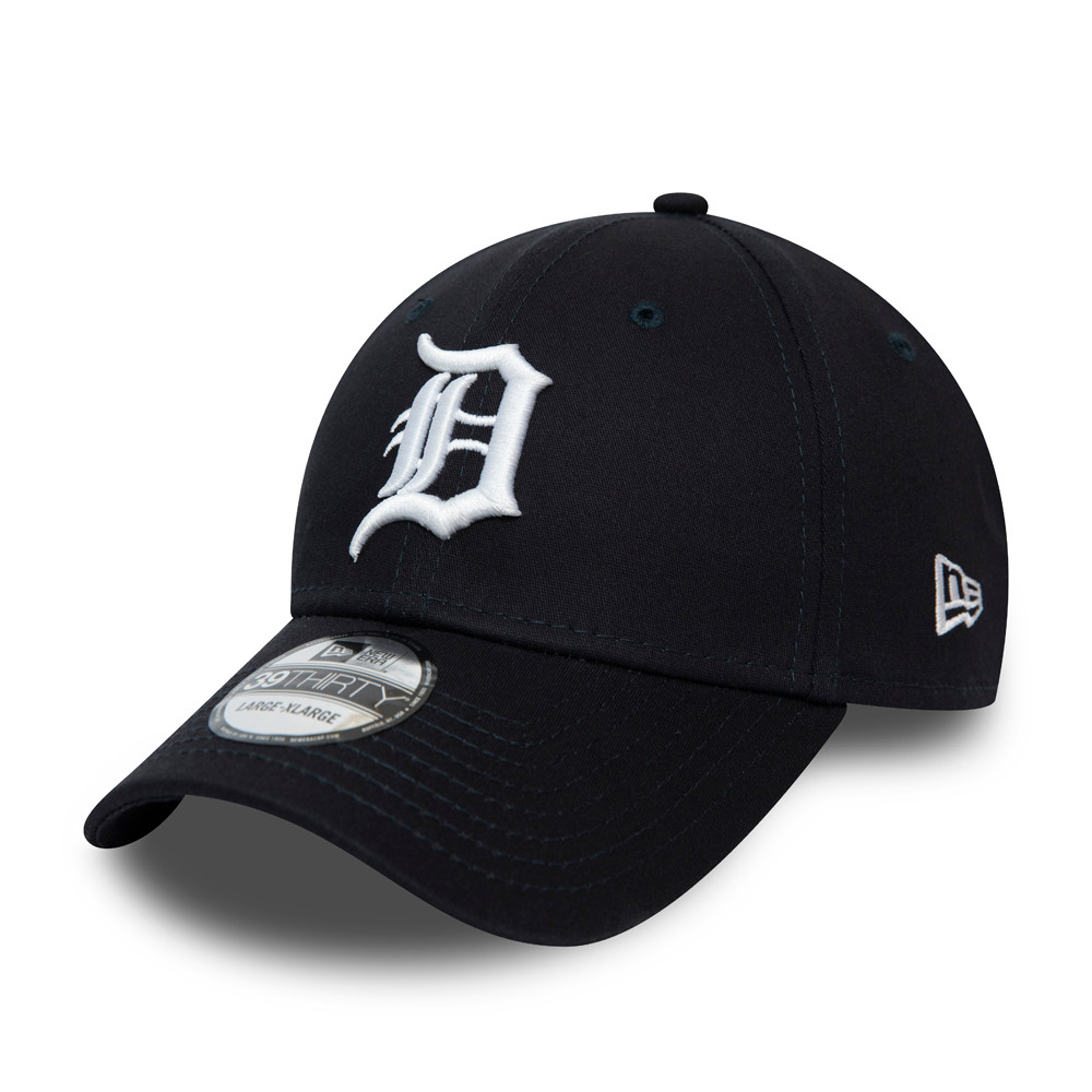Gorra Detroit Tigers League Essential 39THIRTY, azul marino