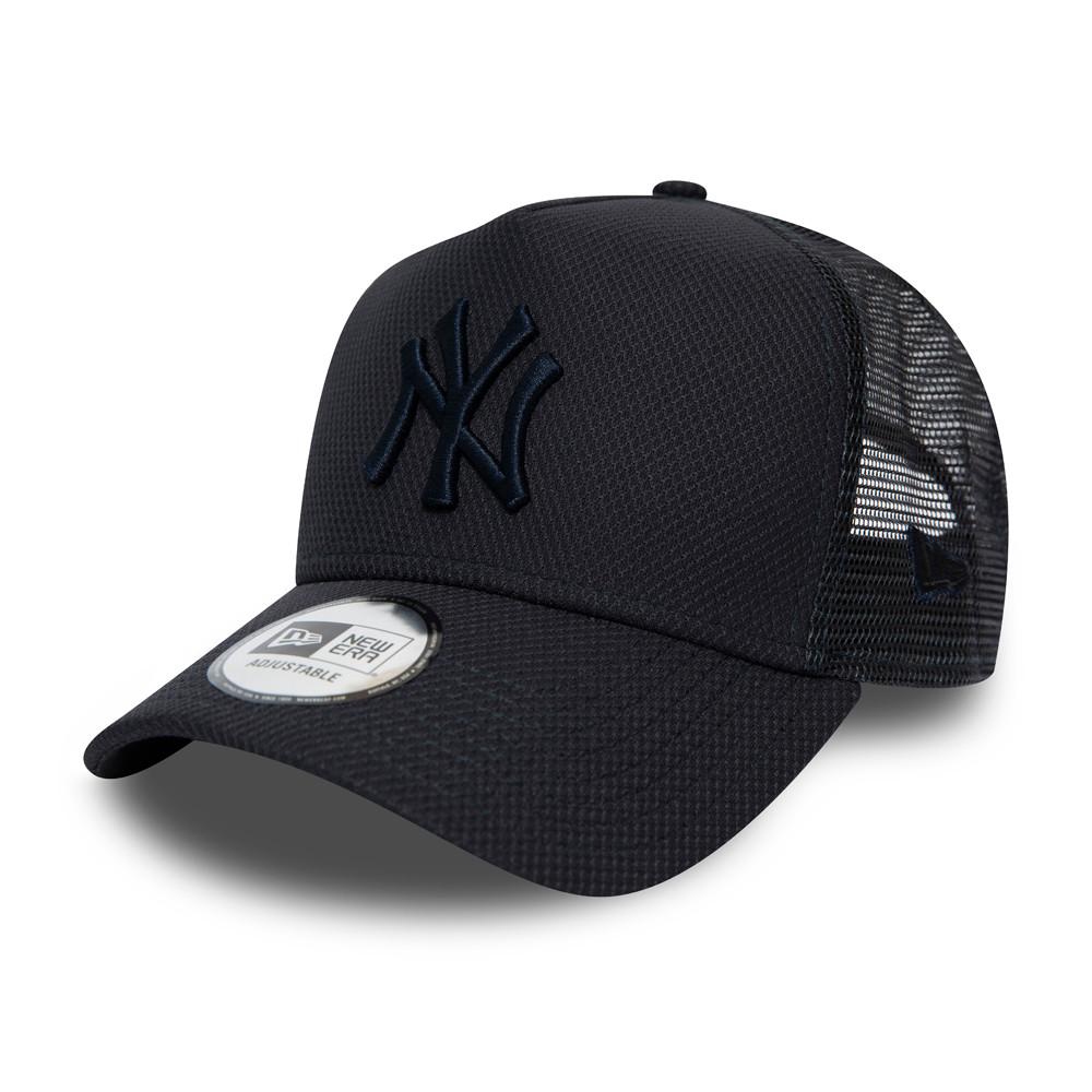 New York Yankees Diamond Essential Trucker blu navy