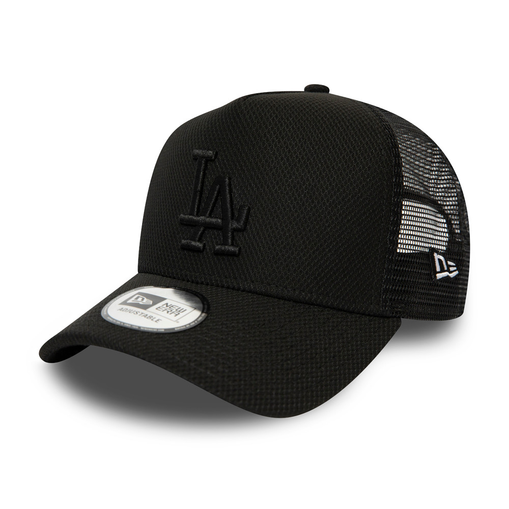 Trucker Diamond Essential Los Angeles Dodgers All Black