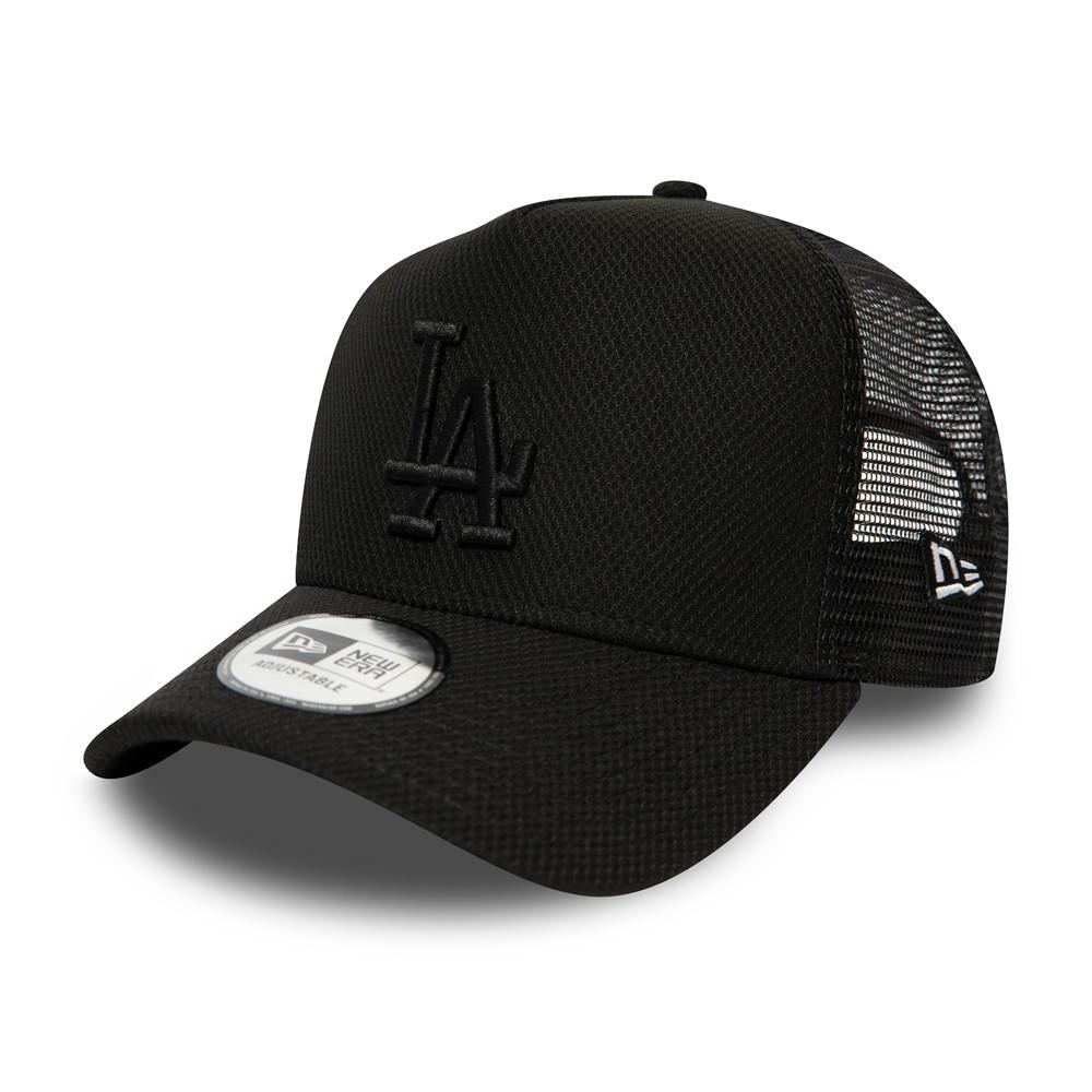 Trucker Diamond Essential des Dodgers de Los Angeles, entièrement noire