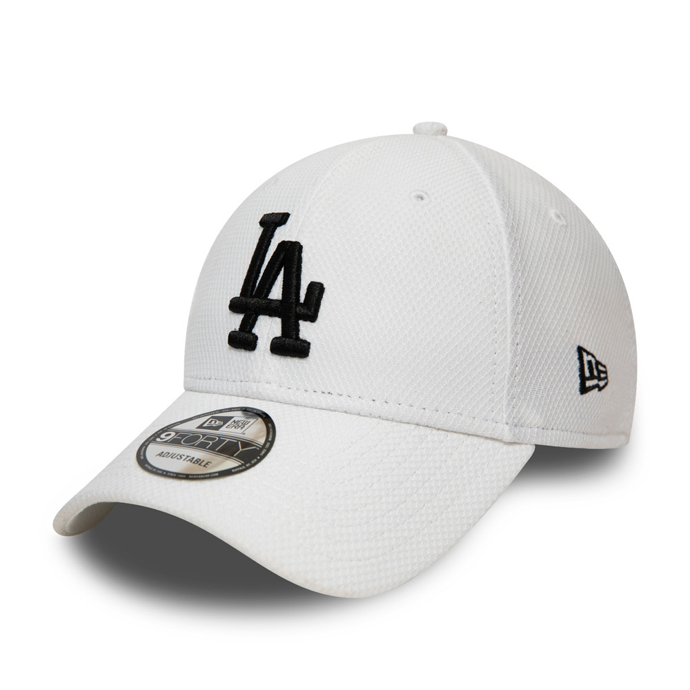 Gorra Los Angeles Dodgers Diamond Era Essential 9FORTY, blanco