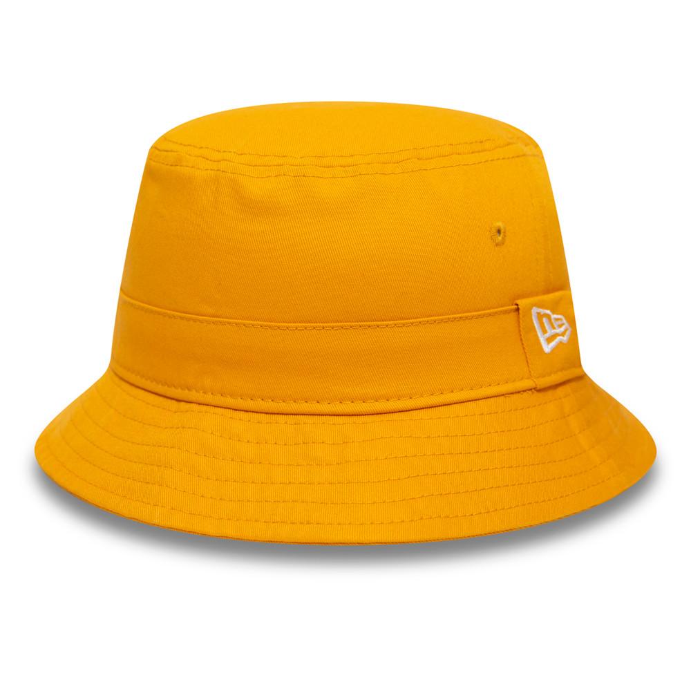 Gorro estilo pescador New Era Essential, amarillo