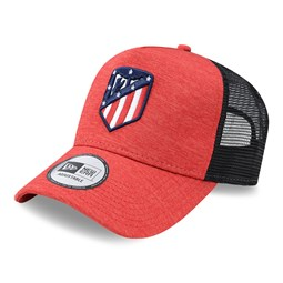 Gorra trucker A-Frame Atlético Madrid Shadow Tech, rojo