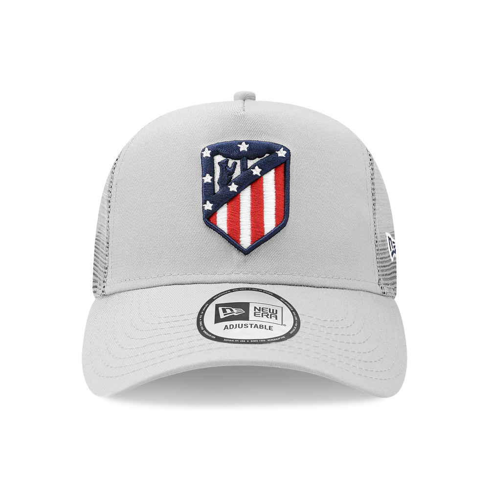 A-Frame Trucker in cotone Atletico Madrid nero