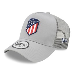 Atletico Madrid Cotton Grey A-Frame Trucker