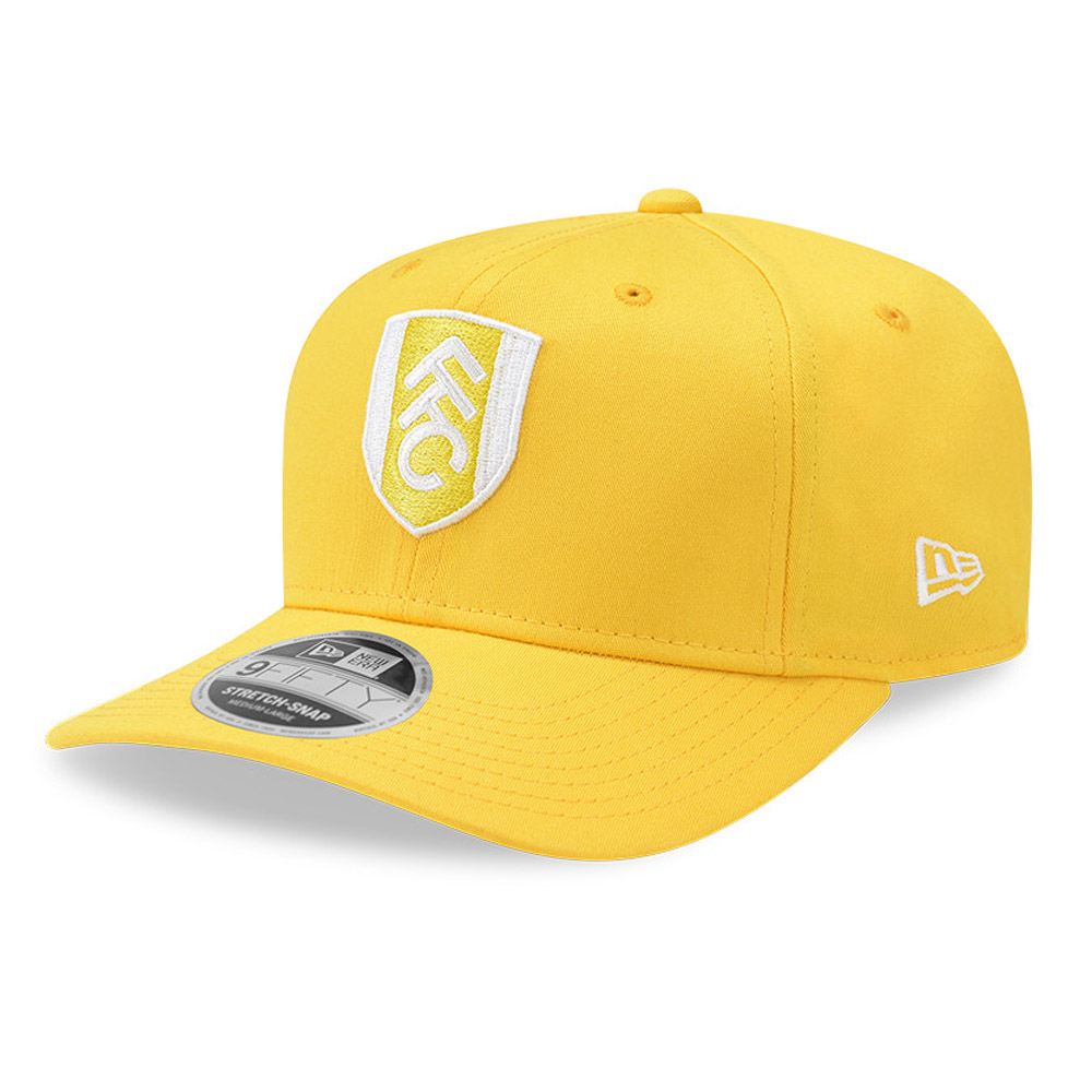 Cappellino 9FIFTY Stretch Snap Fulham FC giallo