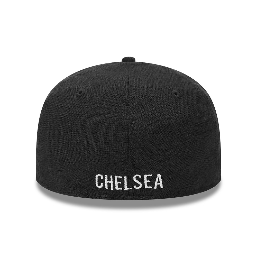 Casquette Chelsea FC Crest Wordmark 39THIRTY, noir