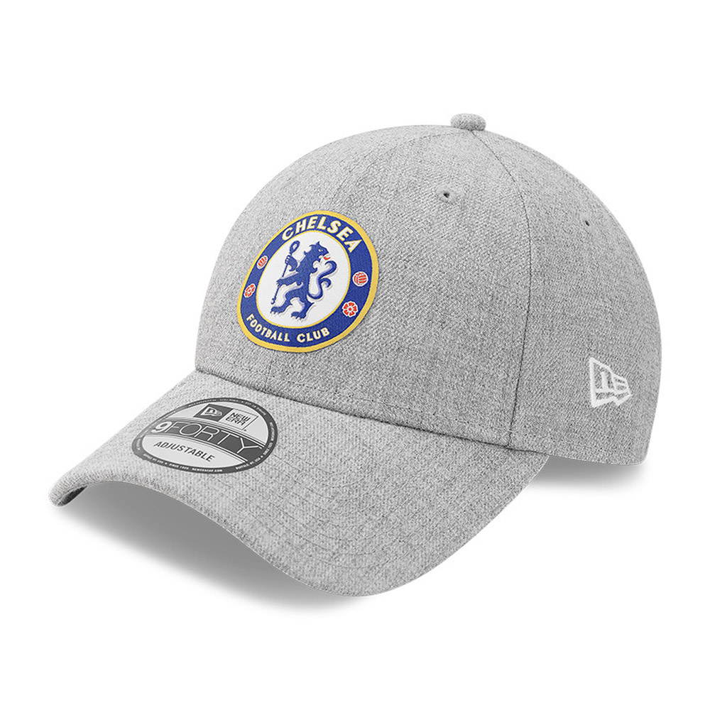 Gorra Chelsea FC Heather 9FORTY, gris