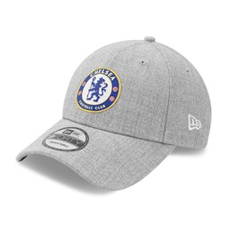 Chelsea FC Heather Grey 9FORTY Cap