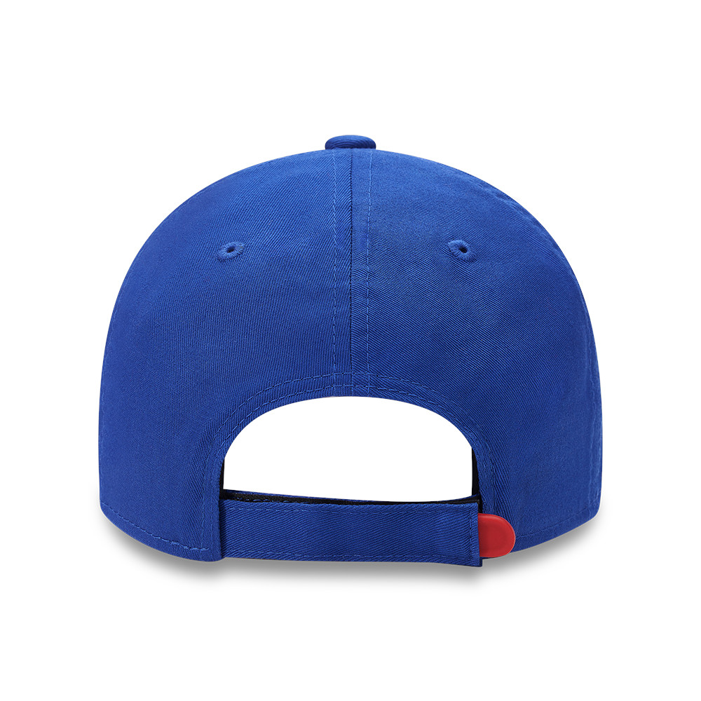 Cappellino 9FORTY in cotone Crystal Palace blu