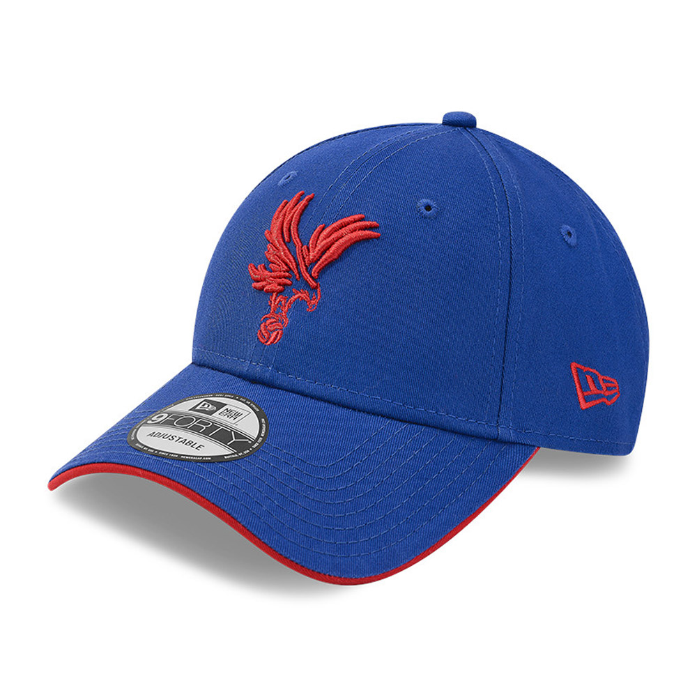 Casquette Crystal Palace Cotton 9FORTY, bleu