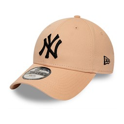 New York Yankees League Essential Kids Black Logo Pink 9FORTY Cap