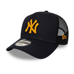 New York Yankees League Essential A-Frame Trucker blu navy bambino