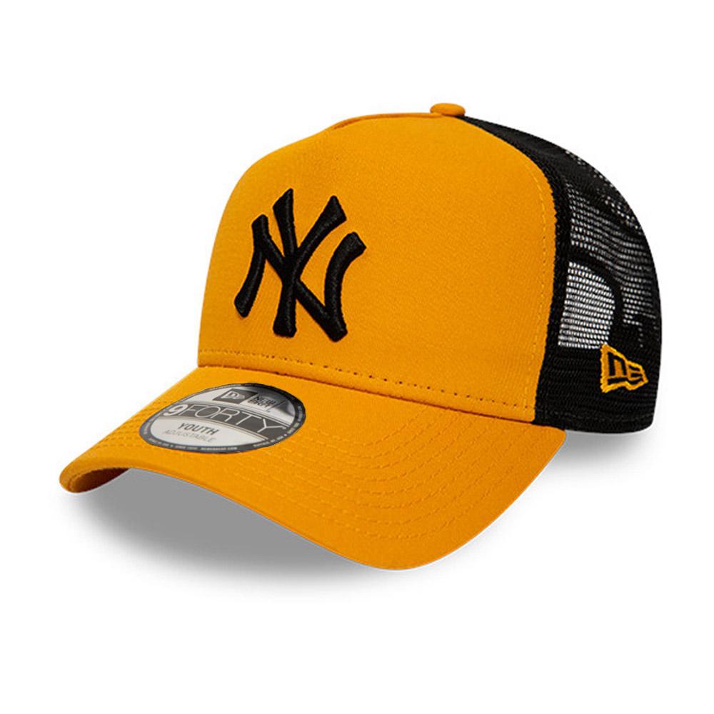 Casquette Trucker New York Yankees League Essential A-Frame, enfant, jaune